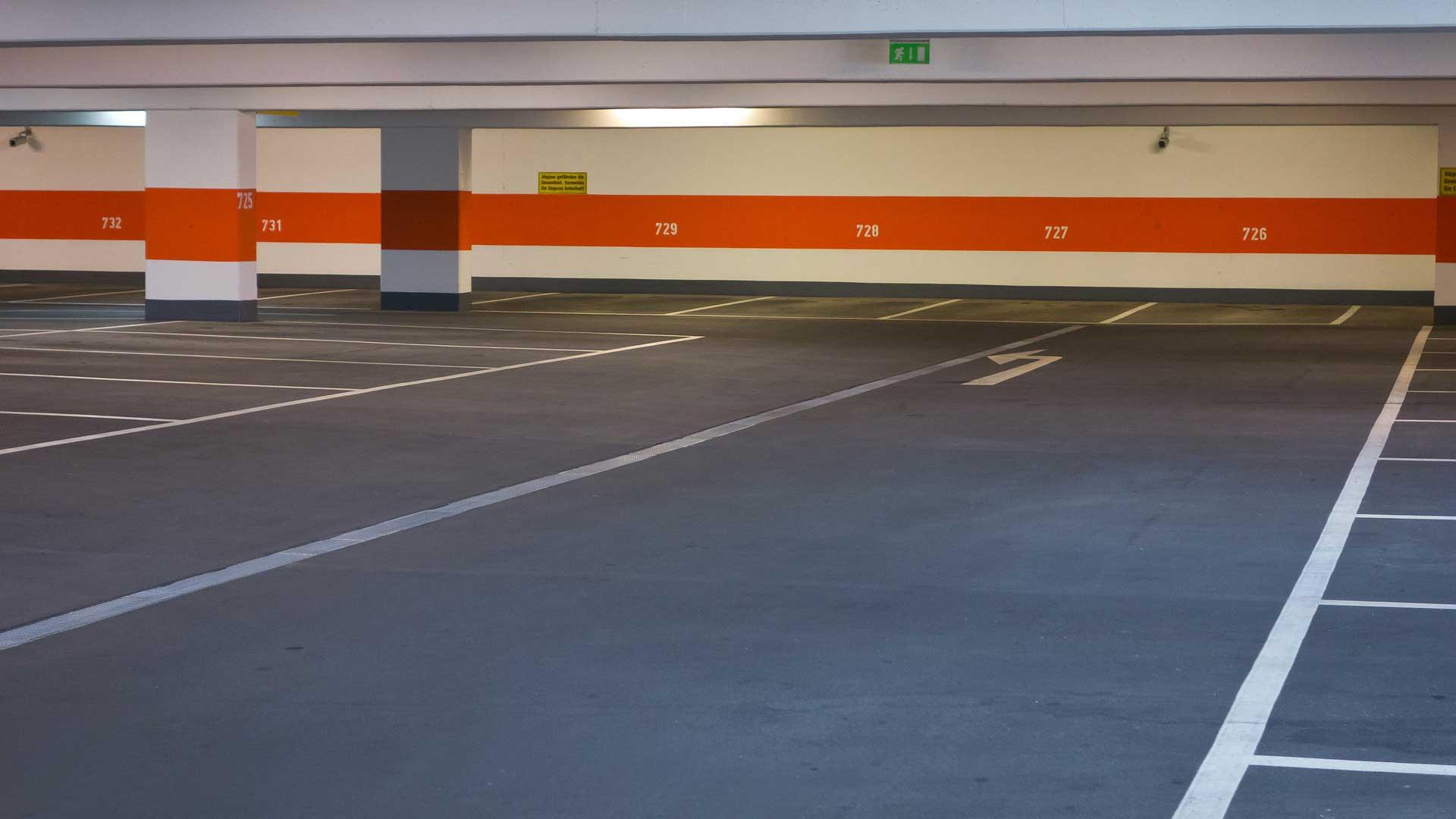 Parkhausreinigung