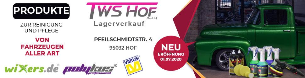 TWS Hof Lagerverkauf